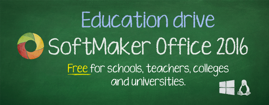 SoftMaker Office education drive