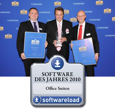 SoftMaker Office wins silver at Softwareload