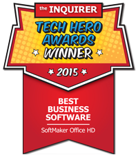 SoftMaker Office HD: premiada por INQUIRER