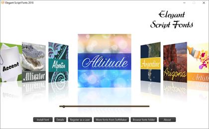 Elegant Script Fonts