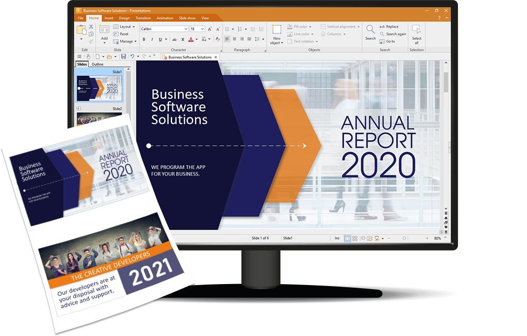 Presentations 2021, the fast, powerful and compatible presentation program